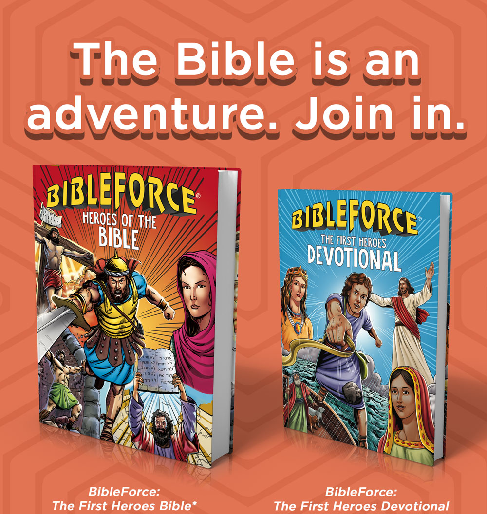 BibleForce Bible and Devotional for Action and Adventure