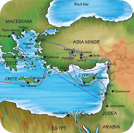 Paul's Missionary Journey Acts13