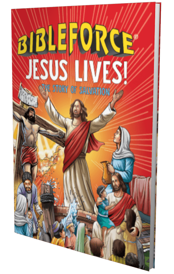 BibleForce Jesus Lives - The Story of Salvation