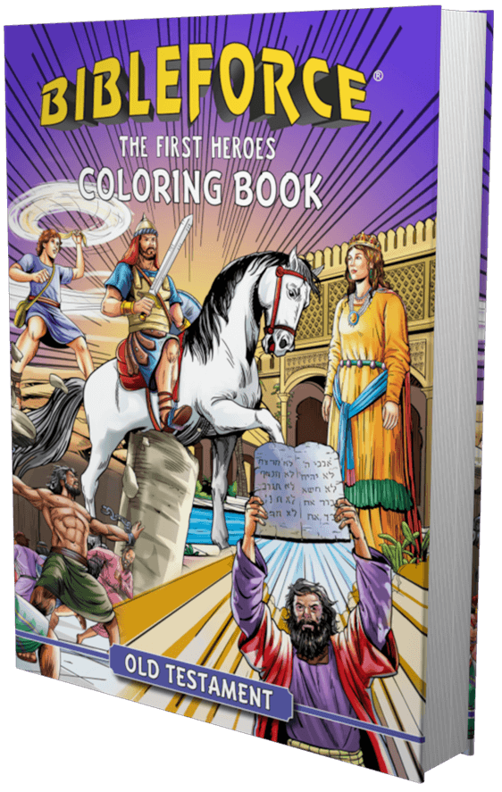 Old Testament The First Heroes Coloring Book