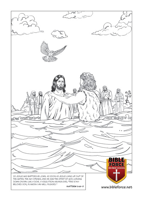 John Baptises Jesus  - MATTHEW 3:16–17