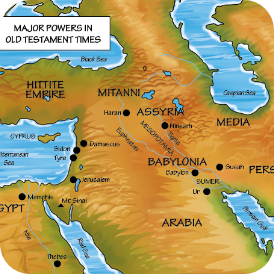 Major Powers During the Old Testament