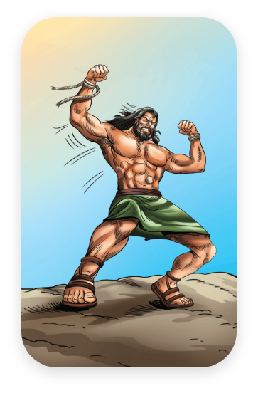 Samson - Gods Strong Man & Nazarite Holy Man