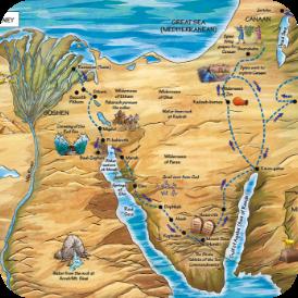 The Hebrews Journey - Exodus 12-13
