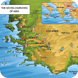 The Seven Churches of Asia Revelations 2-3